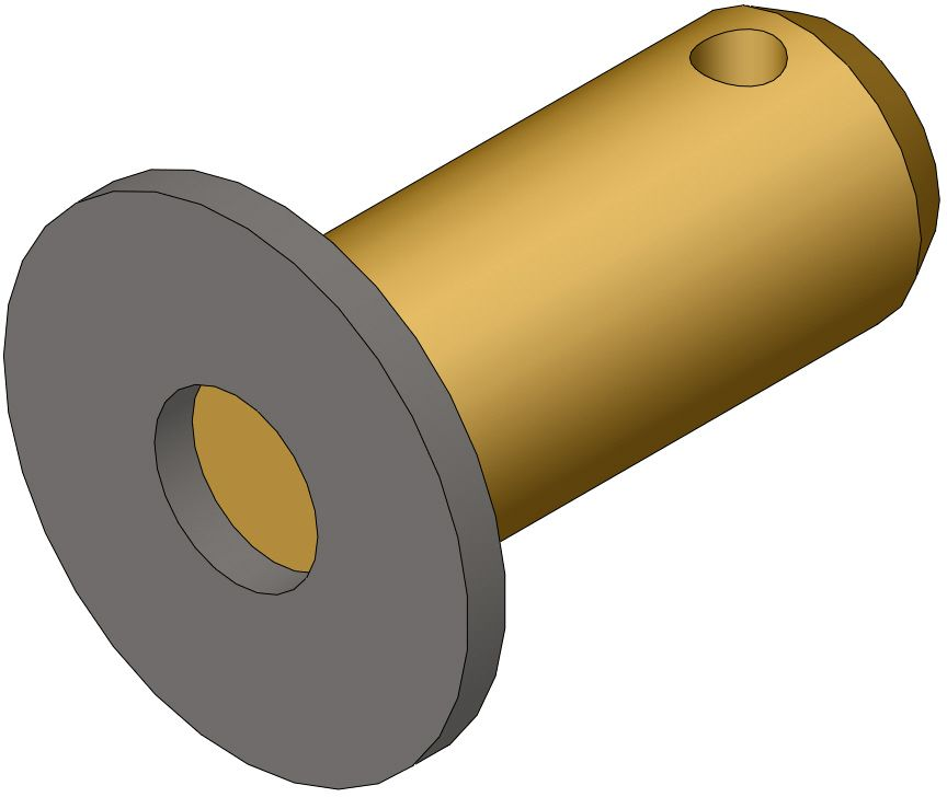 bolt with washer