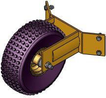 3rd Support Wheel / VTK-V-SR/N