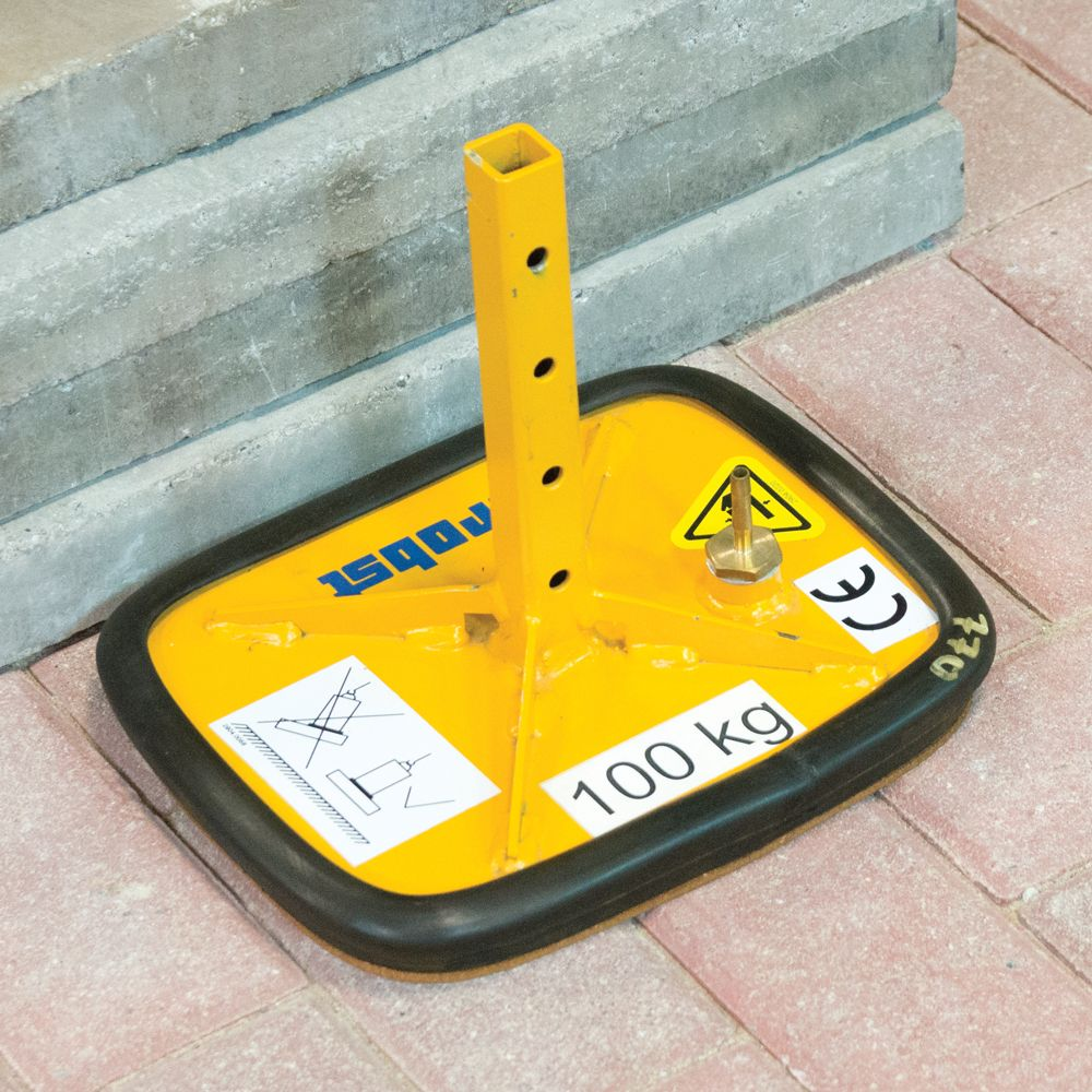 M<span>AMMOTH</span>MITE VPH 12v 220 lb (100 kg) Suction Plate
