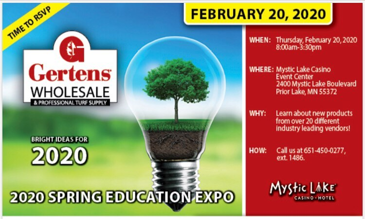 Gertens 2020 Education Expo